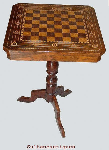 unique furniture antiques for sale unique superbly inlaid chess board table for sale