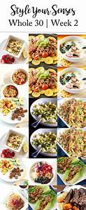 Meal Planner And Grocery List The Ultimate Whole30 Grocery List Whole 30 Style Your