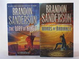 The Stormlight Archive by Brandon Sanderson (Books 1-2 in ...