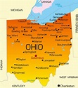 Ohio Map - Guide of the World