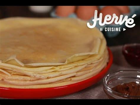 hervé cuisine pancakes crêpe facile et rapide doovi