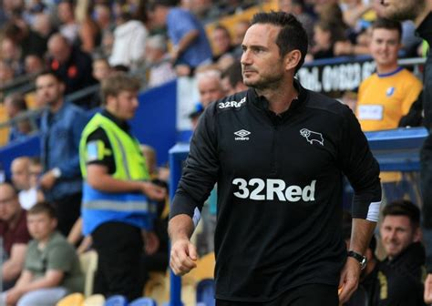 Frank Lampard thinks experience will be key for Derby ...