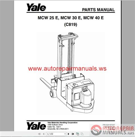 yale forklift set pdf parts manuals auto repair manual forum heavy equipment forums
