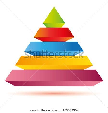 pyramid diagram Royalty free stock photos Diagram
