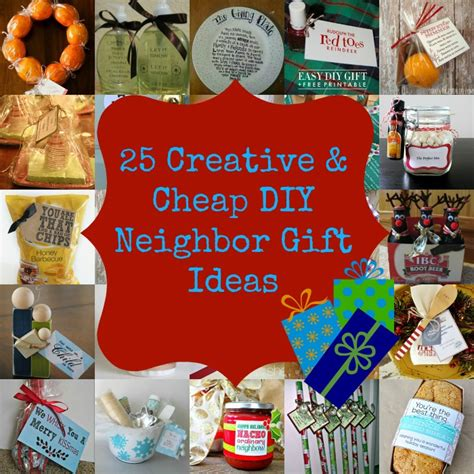 25 creative cheap diy neighbor christmas gift ideas