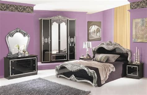 silver bedroom set black and silver bedroom set 7 free wallpaper
