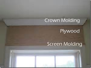 Crown Molding Window Trim