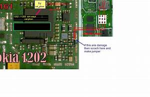 Nokia 1202 Sim Ways If Sim Ic Prints Damages  Solution