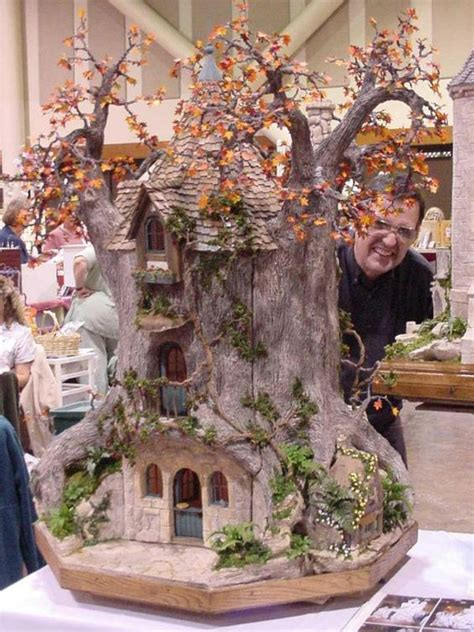 miniature tree houses ideas  mesmerize  bored art