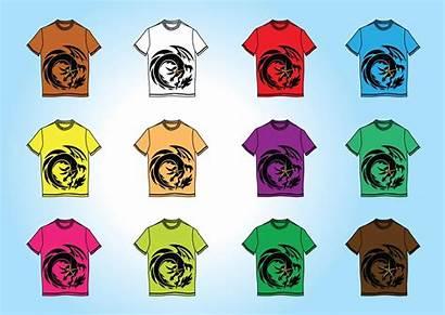 Vector Shirt Templates Vectors Template Tshirt Clipart