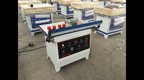 lonjan machinery mfs bt  degree manual edge banding machine edgebander intro video youtube