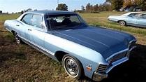 1967 Chevy Impala 4 dr Hardtop For sale BLACK SUPERNATURAL ...
