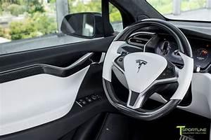 Black Model X - White Interior – TSportline.com - Tesla Model S, X & 3 Accessories   Tesla model ...