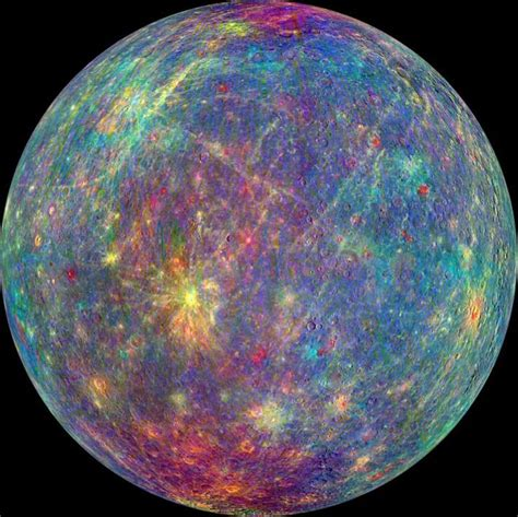 the color of mercury new study reveals mercury s crust is thinner than anyone