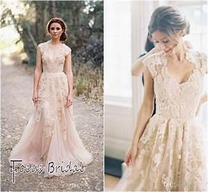 2014 new custom made lace wedding dresses off shoulder With lace wedding dresses cheap