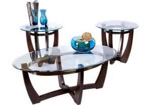 livingroom table sets haverhill brown 3 pc table set table sets wood