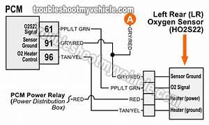 Oxygen  O2  Sensor Wiring Diagrams  1997 4 6l F150