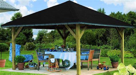 Dach Für Holzpavillon by Karibu Holzpavillon 187 Holm 1 171 Kaufen Otto