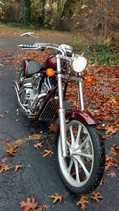 Honda Fury Chopper  Raked Out With Tons Of Extras  2010