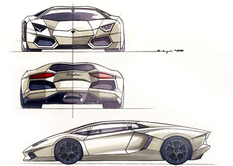lamborghini sketch lamborghini aventador lp 700 2011 supercar sketches
