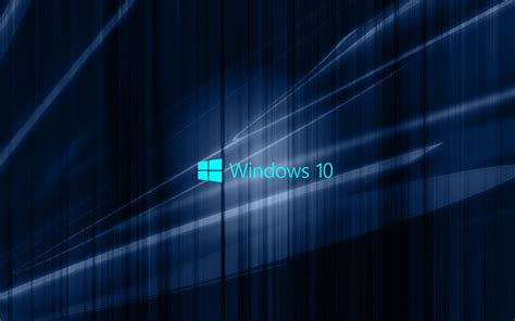 photos windows 10 windows 10 wallpaper with blue abstract waves hd wallpapers for free