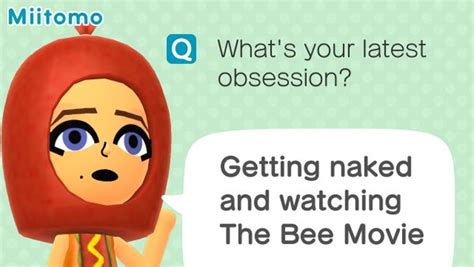 Miitomo Memes - the bee movie miitomo know your meme