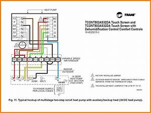 To Thermostat Pump Heat Wiring Ruud Diagram Proth3210d