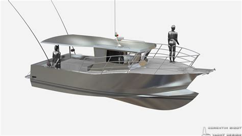 Fishing Boat Designs 1 by Corentin Yacht Design Work Boat