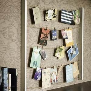 Ideen Fotos Aufhängen : sch ne aufbewahrung f r fotos postkarten einladungen oder die speisekarte n vom lieferservice ~ Yasmunasinghe.com Haus und Dekorationen