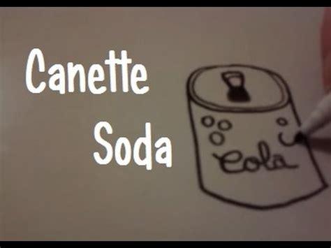 comment cuisiner une canette dessiner une canette de soda