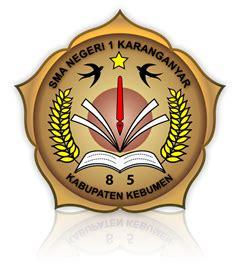 logo sma negeri  karanganyar kab kebumen logo bagus