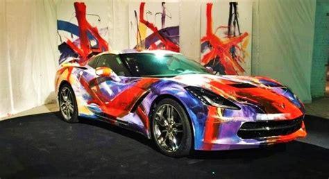 transformed  contemporary art piece corvetteforum