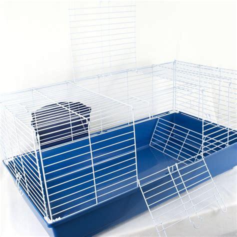 Gabbie Per Coniglio - gabbia conigli con portafieno 99x51x46h cm