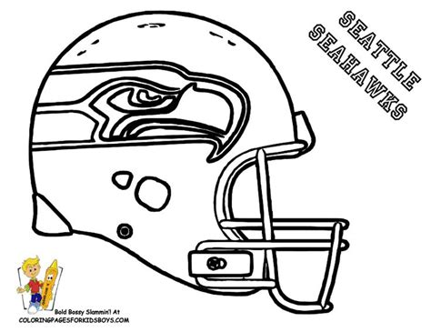 Sports Coloring Pages For Boys Football