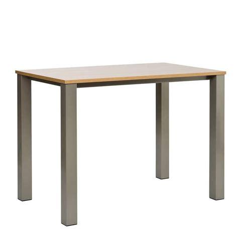 hauteur table de cuisine table de cuisine en stratifié quinta mange debout