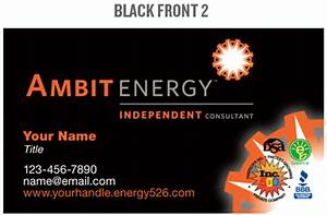 mpower team ambit energy business cards With ambit energy business card template