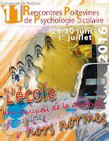 jean louis roubira rencontres poitevines de psychologie scolaire