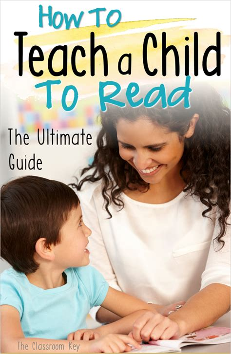 how to teach a child to read the ultimate guide the 717 | how to teach a child to read pin