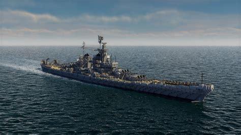 USS Montana class battle ship c4d Minecraft Project