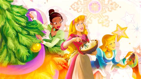 disney princess preparations with cinderella and wallpaper and