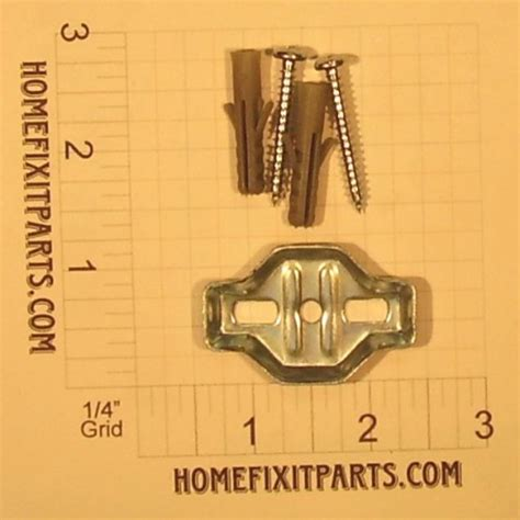 towel bar mounting bracket  screws  anchors
