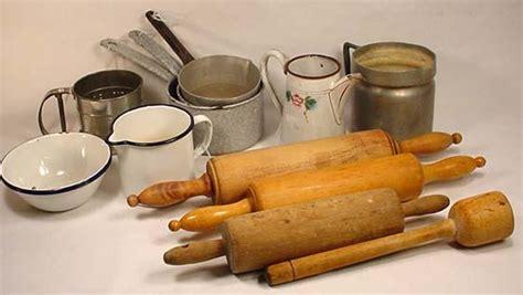 Lot Of Vintage German Kitchen Items  Incl Enamel
