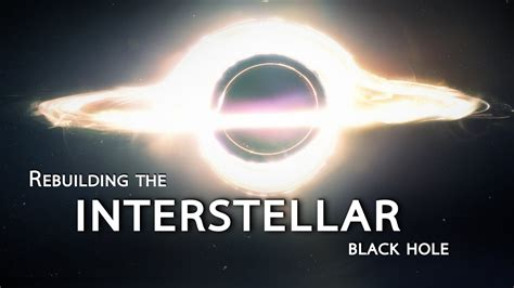 Rebuilding the INTERSTELLAR black hole | Shanks FX | PBS ...