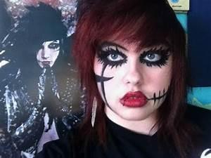 Andy Biersack/Sixx Makeup Tutorial/Transformation - YouTube
