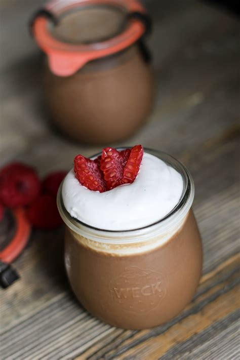 sous vide chocolate pot de creme