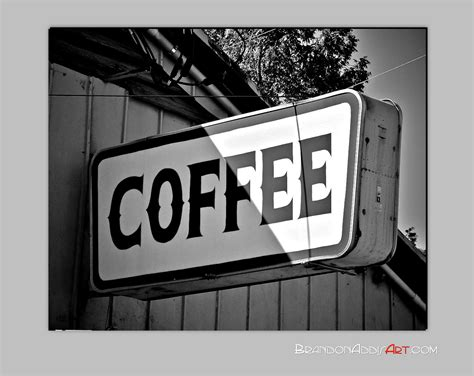 coffee signs for kitchen coffee sign print black and white photo kitchen by