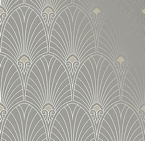Papier Peint Art Nouveau : black and white wallpaperart deco wallpaper driverlayer ~ Dailycaller-alerts.com Idées de Décoration