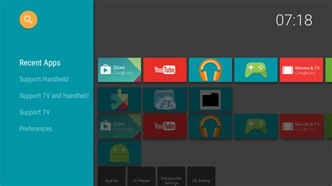 tv app for android halauncher tv android tv appstore for