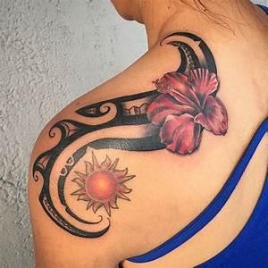 Tattoos Frauen Schulter : die besten 25 tattoo sonne ideen auf pinterest sonne tattoo designs mandala sonne tattoo und ~ Frokenaadalensverden.com Haus und Dekorationen