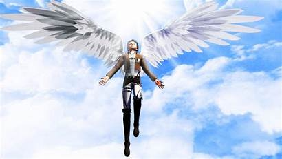 Freedom Wings Wallpapers Levi Chii Wallpapersafari Rivaille
